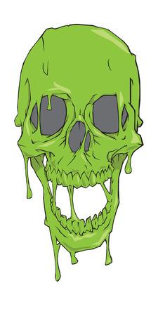 slime: Slime skull
