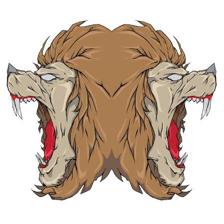 늑대 인간 이미지
