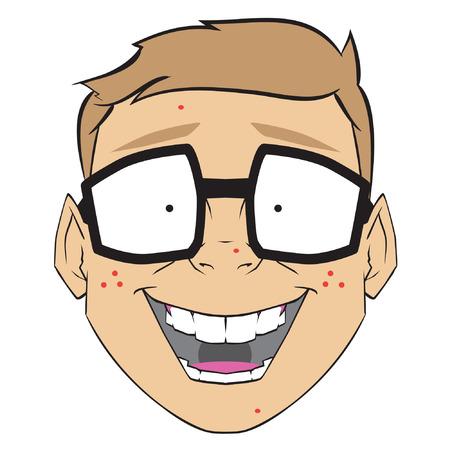 dork: Nerd face