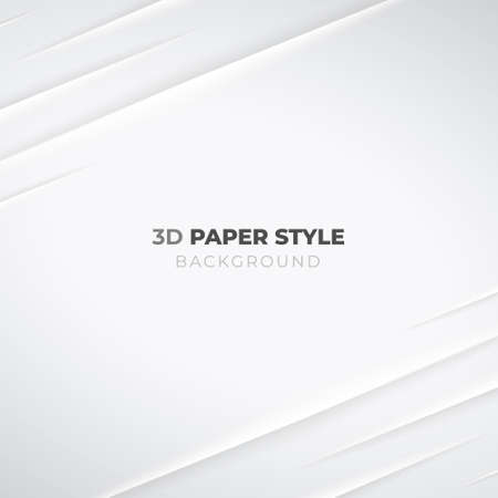 Realistic 3D High Quality Folded Paper Background . Isolated Vector Elements