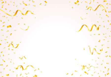 Set of Isolated Vector Party Editable Elements on Transparent or White Background