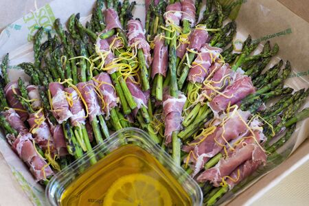 prosciutto and asparagus appetizer