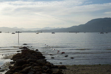 pier at sunset kits beach vancouver 3