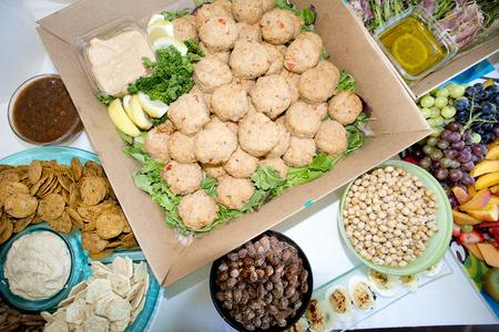 party tray: crab cake party tray