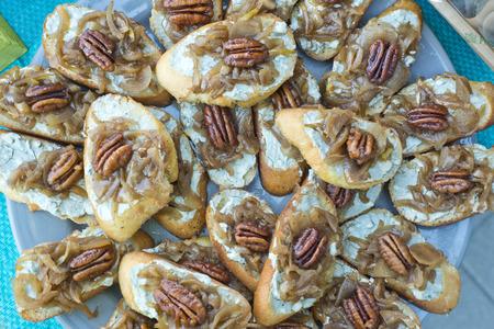 party tray: walnuts and pecan party tray