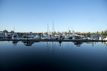 boats at quayside marina 2