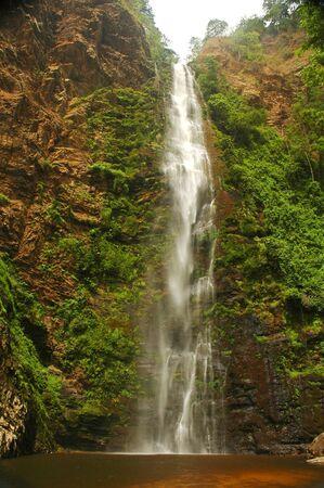 ghana: Wli Falls in eastern Ghana Stock Photo