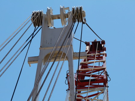 pulleys: Crane JibLifting Gear construction