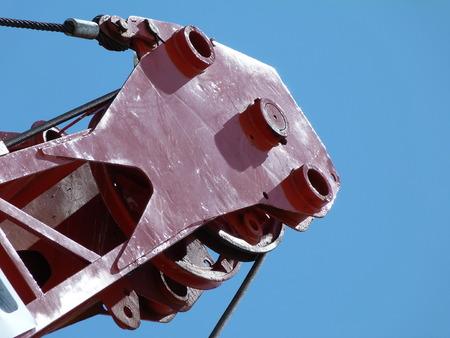 jib: constuction cranelifting gear Stock Photo