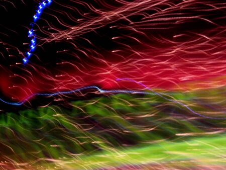 random: Backdrop Abstract Random Light Trails