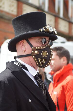 goth: Whitby Goth Weekend. Male Editorial