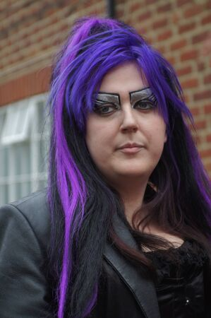 whitby: Whitby Goth Weekend. Female Editorial