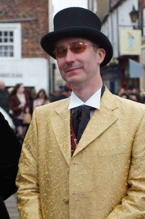 whitby: Whitby Goth Weekend. Male Editorial