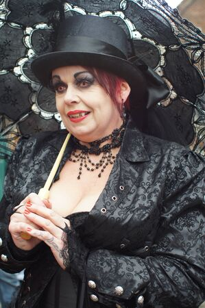 whitby: Whitby Goth Weekend. female