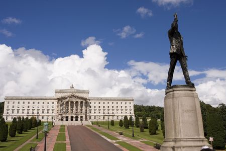 Stormont buildings , the site of the Northern Ireland government photo