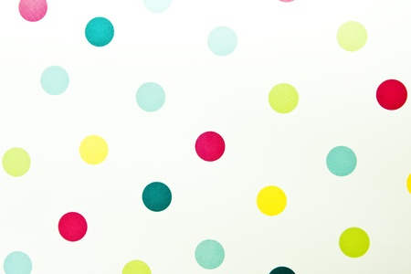 Coloured spotted pattern for use as a background