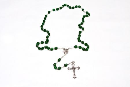 Roman Catholic Rosary beads used for praying