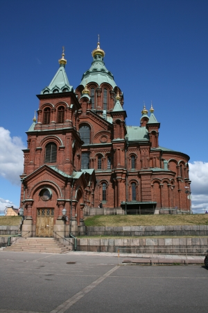 Uspensky Cathedral, Helsinki, Finland Stock Photo