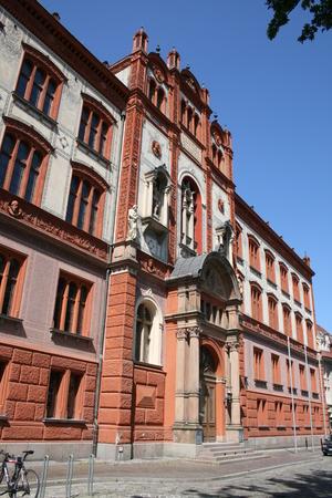 rostock: Main building, University of Rostock, Rostock, Germany