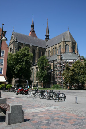 mary's: St  Marys Church, Rostock, Germany