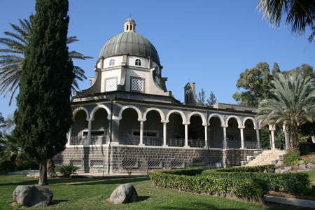 catholic chapel: Roman Catholic chapel, Mount of Beatitudes, near Capernaum, Israel