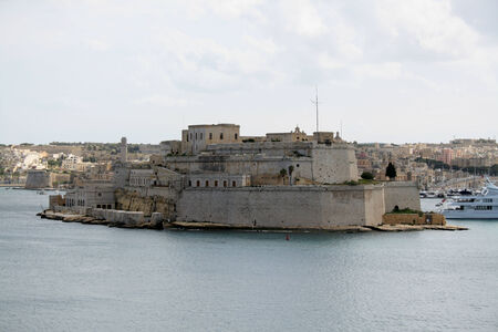 angelo: Fort Saint Angelo, Valletta, Malta Editorial