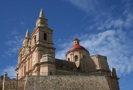 parish: The Parish Church of Mellieha, Mellieha, Malta