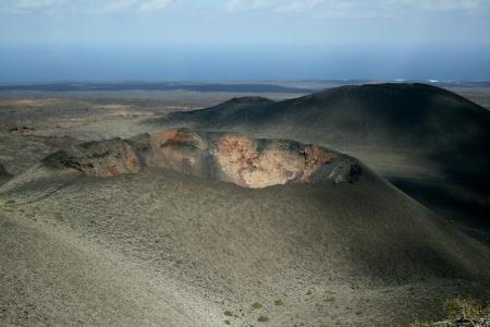 timanfaya: Paisaje volc�nico, Parque Nacional de Timanfaya, Lanzerote, Espa�a