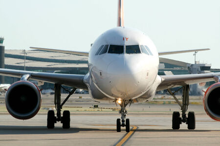G-EZIY,Easyjet Airbus 319 taxis to stand, Barcelona, Spain Editorial