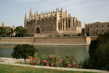 The Cathedral of Santa Maria of Palma, Palma de Mallorca, Majorca, Spain