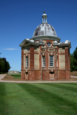 wrest: The Archer Pavilion, Wrest Park, near Silsoe, Bedfordshire, England