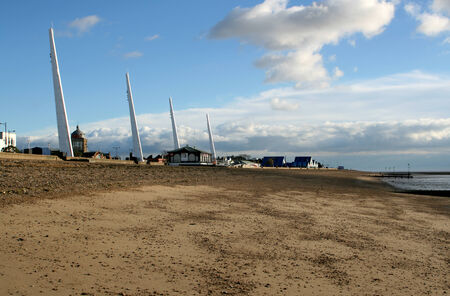 essex: Beach and seafront, Marine Parade, Southend on Sea, Essex, England
