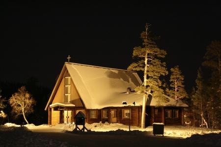 Saariselka Church, Saariselka, Finnish Lapland, Finland