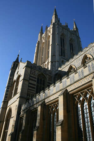 suffolk: St Edmundsbury Cathedral, Bury St Edmunds, Suffolk, England