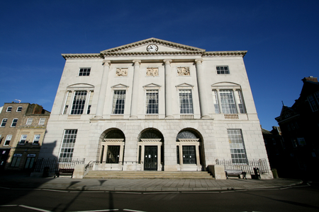 Shire Hall is situated at the end of the High Street, Chelmsford, Essex, England