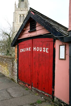 essex: Fire Engine House, Thaxted, Essex, England Stock Photo