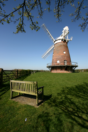 essex: Windmill  in Thaxted, Essex, England