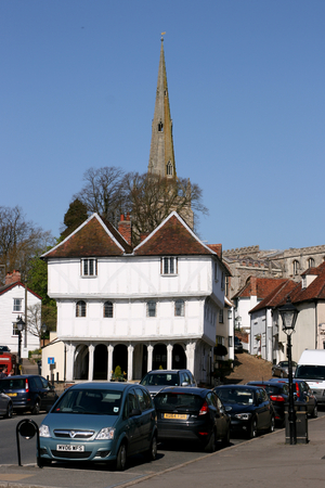 essex: Thaxted Guildhall built in the 15th century, Thaxted, Essex, England