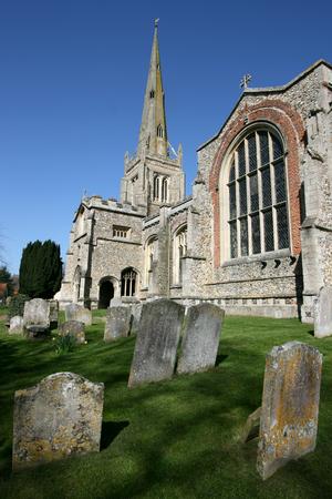 parish: Thaxted Parish Church  in Thaxted, Essex, England