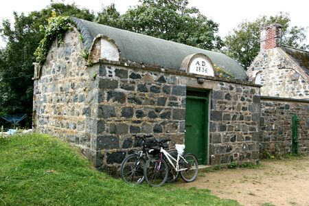 jail: Jail on the Island of Sark in the Channel Islands