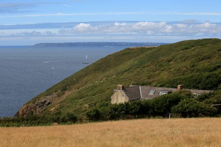 sark: Coastal scenery on Sark in the Channel Islands