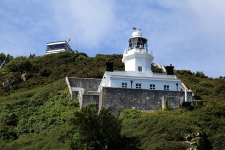sark: Lighthouse on Sark in the Channel Islands