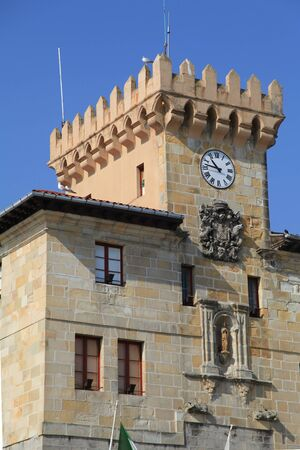 town halls: Town Hall of Castro Urdiales, Spain