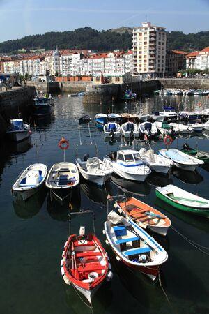 castro: Port of Castro Urdiales, Spain