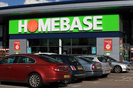 homeware: Homebase store, Harlow, Essex