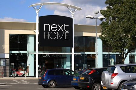 home store: Next Home store, Harlow, Essex