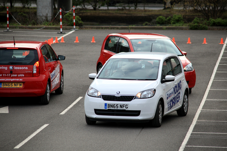 17 year old: Young Driver driving lessons for 11 to 17 year olds held at Bluewater, Kent, England