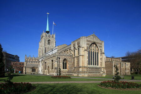 essex: Chelmsford Cathedral, Chelmsford, Essex, England Stock Photo