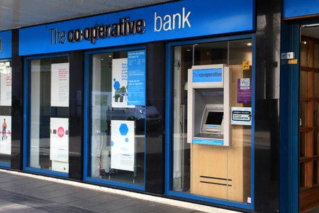 co operative: Co operative Bank, Chelmsford, Essex, England