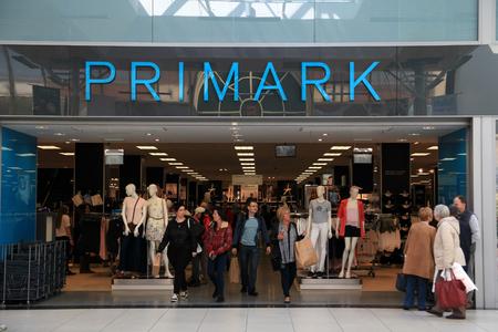 Primark store, Chelmsford, Essex, England Editorial